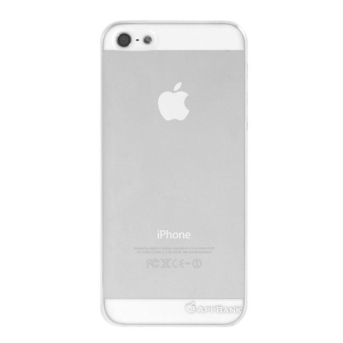 【iPhone SE/5s/5ケース】AppBankのうすーいiPhone SE/5s/5 ケース(クリア)_0