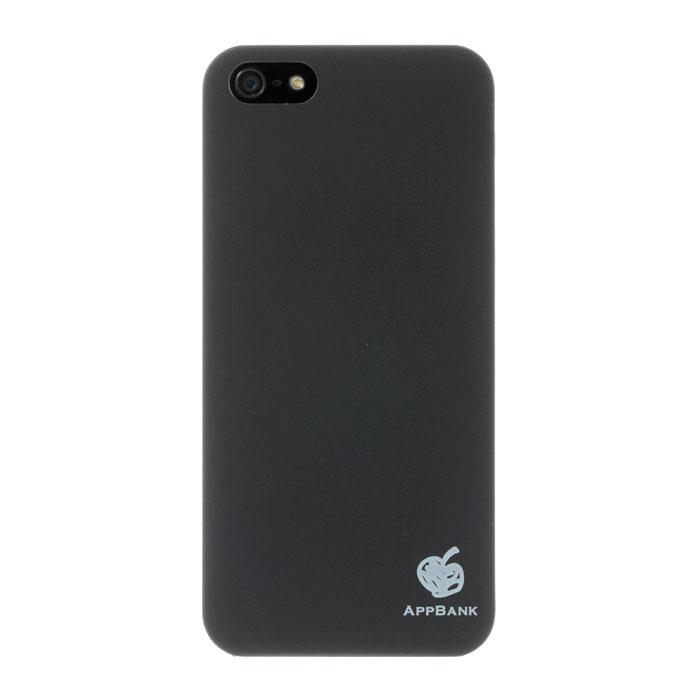 iPhone SE/5s/5 ケース AppBankのうすーいiPhone SE/5s/5ケース(ブラック)_0