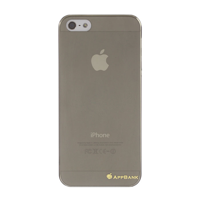 AppBankのうすーいiPhone SE/5s/5ケース(スモーク)