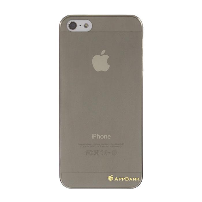 iPhone SE/5s/5 ケース AppBankのうすーいiPhone SE/5s/5ケース(スモーク)_0