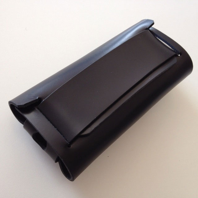 【iPhone SE/その他の/iPodケース】abicase ウォレットケース ブラック  iPhone SE/5s/5c/5ケース
