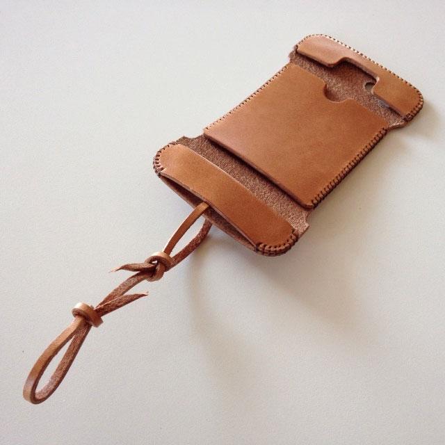 【iPhone SE/5s/5ケース】【iPhone SE/5s/5】 abicase 飴色 ウォレットジャケット