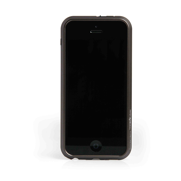 【iPhone SE/5s/5】 innerexile odyssey 5 【Black】