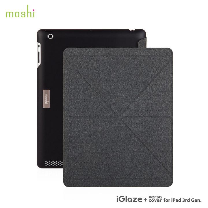 moshi iGlaze + VersaCover  iPad3rd【Black】