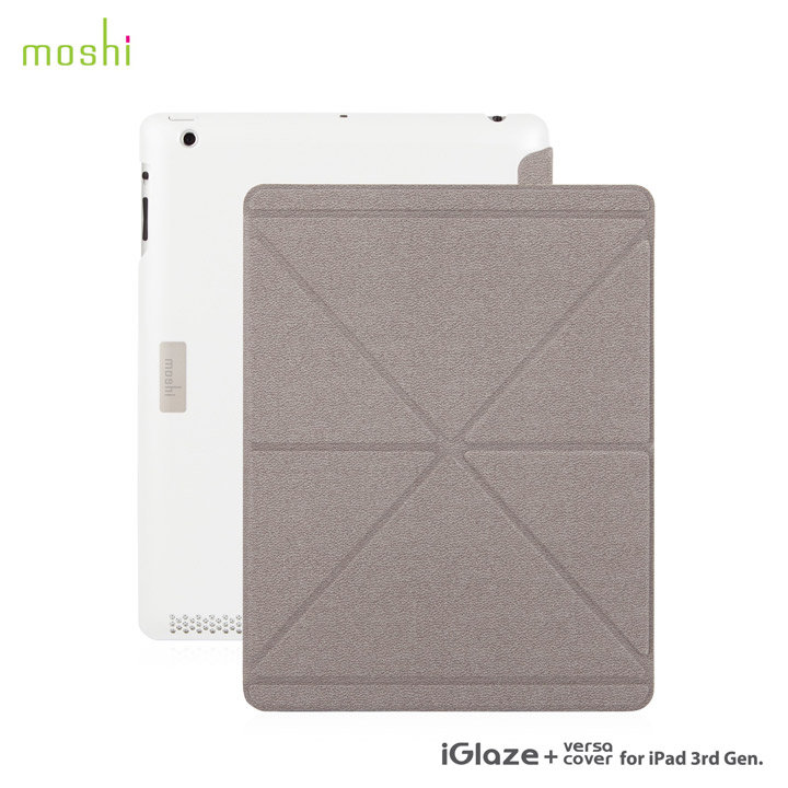 moshi iGlaze + VersaCover  iPad3rd【White 】