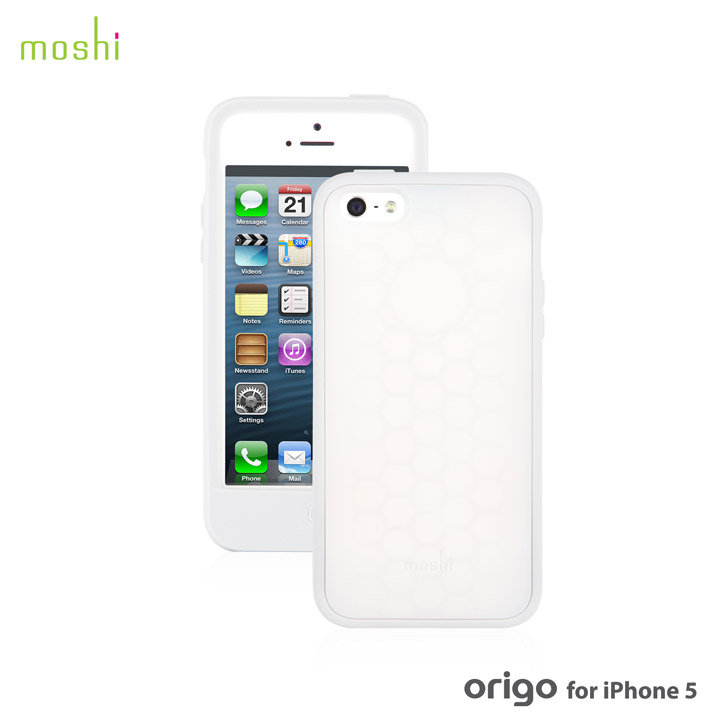 iPhone SE/5s/5 ケース moshi Origo  iPhone 5 【Polar White 】