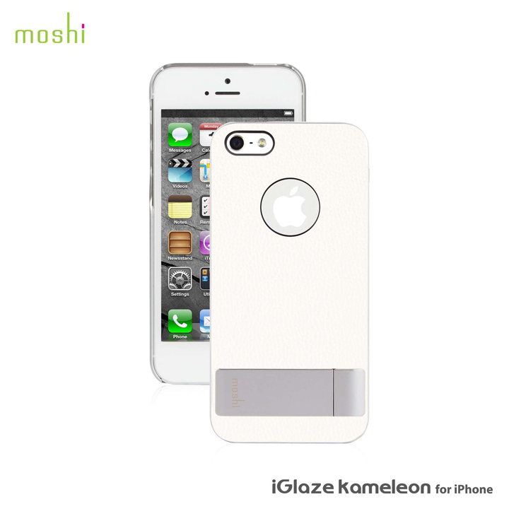 iPhone SE/5s/5 ケース moshi iGlaze Kameleon  iPhone 5【White 】